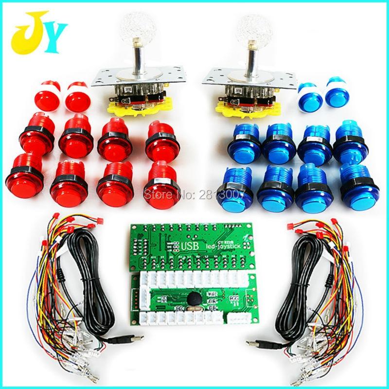 Controlador USB para juegos de Arcade codificador de mango + 2 joystick...