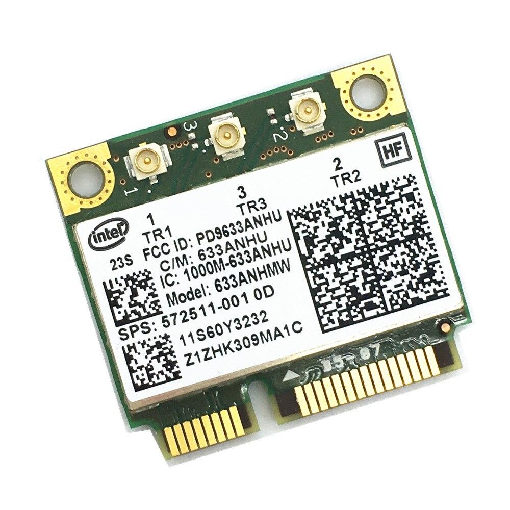 Envío Gratis para 6300agn intel 6300 MINI PCI-E 450Mbps Card FRU 60y3233 para t420 x220 t520
