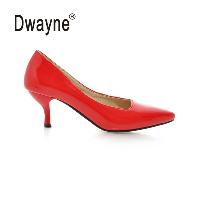 Zapatos de tacón alto para mujer de gran tamaño zapatos de fiesta de 2019 AMN para mujer zapatos de fiesta de PU A05-1