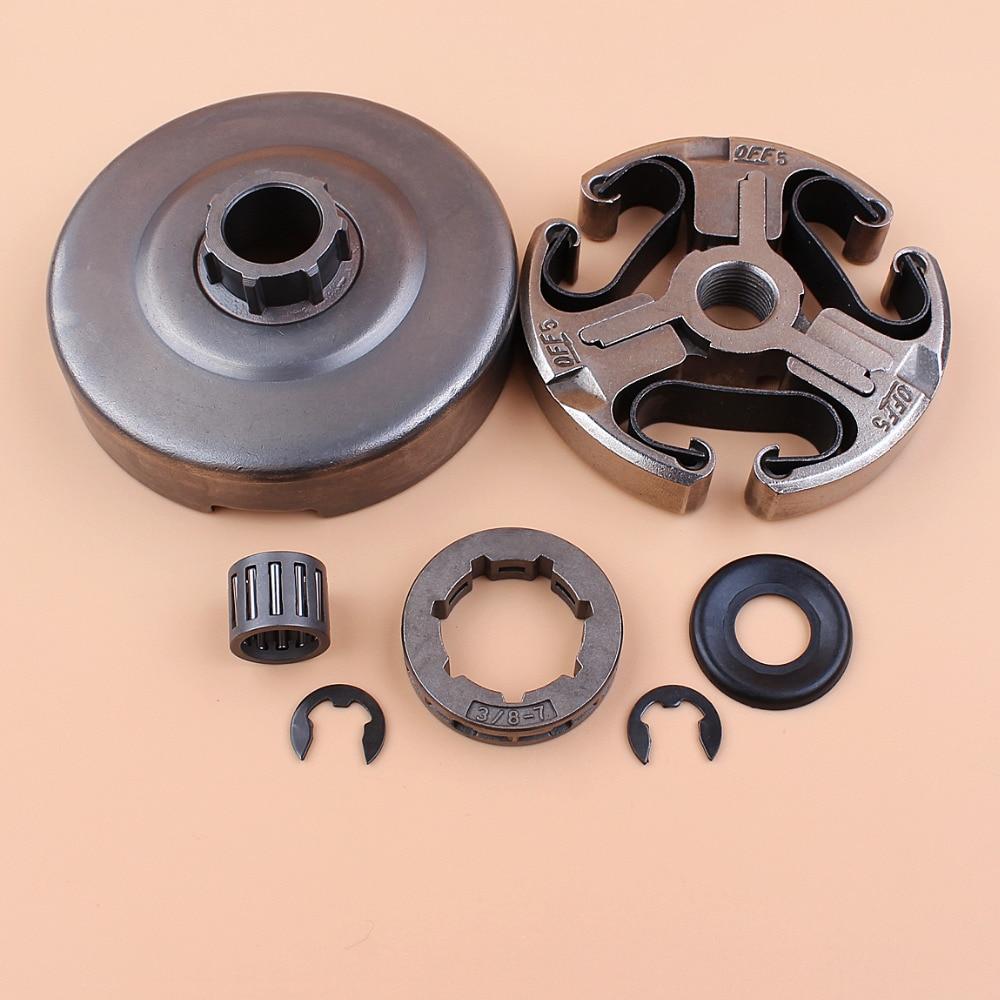 Комплект подшипников омывателя колеса барабана сцепления для Husqvarna 365 372 XP 372XP 371 362 запчасти бензопилы 3/8