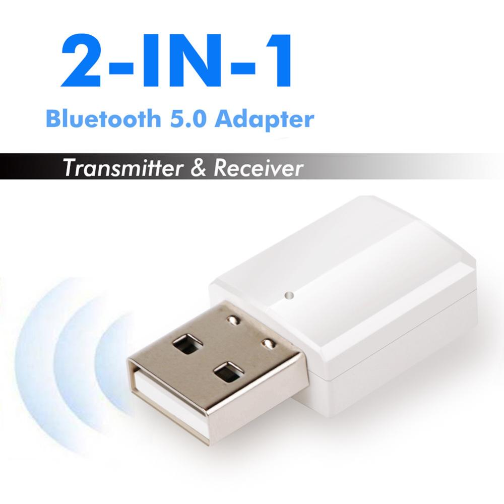 Mini portátil bluetooth v5.0 receptor de áudio usb bluetooth transmissor adaptador zf169 para tv/pc fone de ouvido alto-falante adaptador receptor
