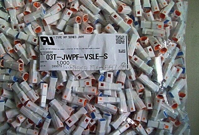موصلات 03T-JWPF-VSLE-S CONN السكن TAB JWPF 3POS 2 مللي متر محطات العلب 100% أجزاء جديدة وأصلية