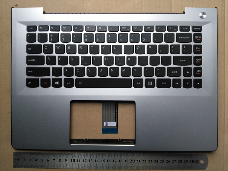 Teclado retroiluminado para ordenador portátil con panel táctil para lenovo S41-70 U41 S41-35 S41-75 300S-14 i2000