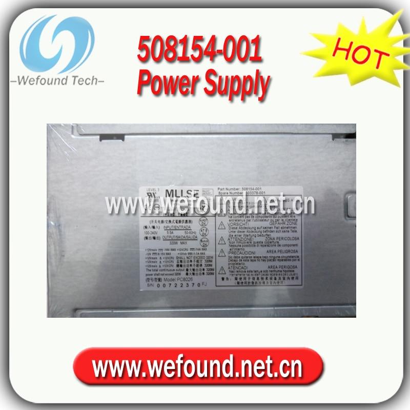 ¡Buen trabajo! 508154-001 503378-001 de suministro de energía para HP 8000 de 8100 de 8200 de 320W