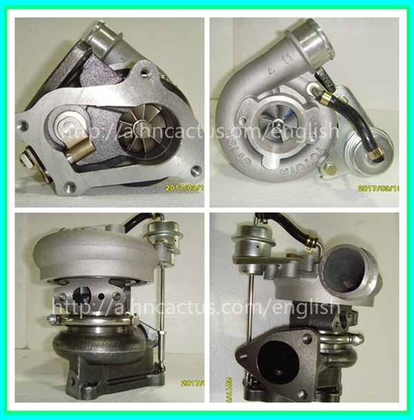 كهربائي محرك 1KZ CT12B توربو شاحن 17201-67020 لتويوتا