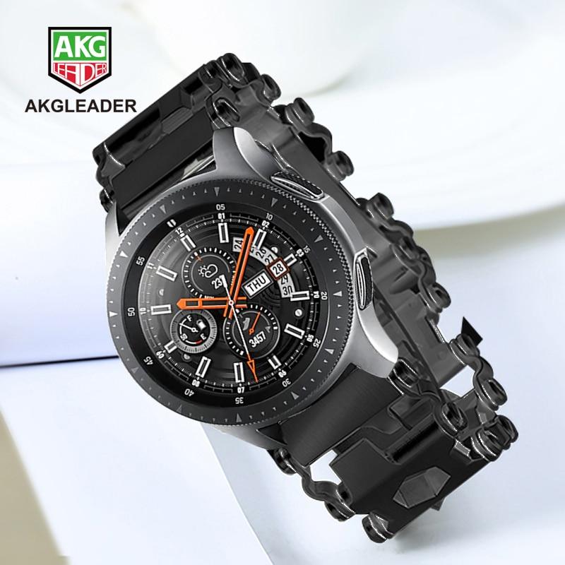 Samsung Galaxy Watch 46mm Gear S3 newest watch strap bracelet bracelet Watch band For Garmin Fenix 3 hr 5x screw driver tools