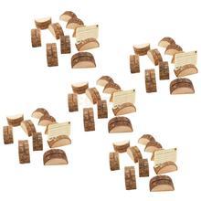 50 Uds boda, números de mesa de madera, soporte, soporte de madera, titular de la tarjeta de boda fiesta tarjeta con nombre para mesa titular Memo nota tarjeta
