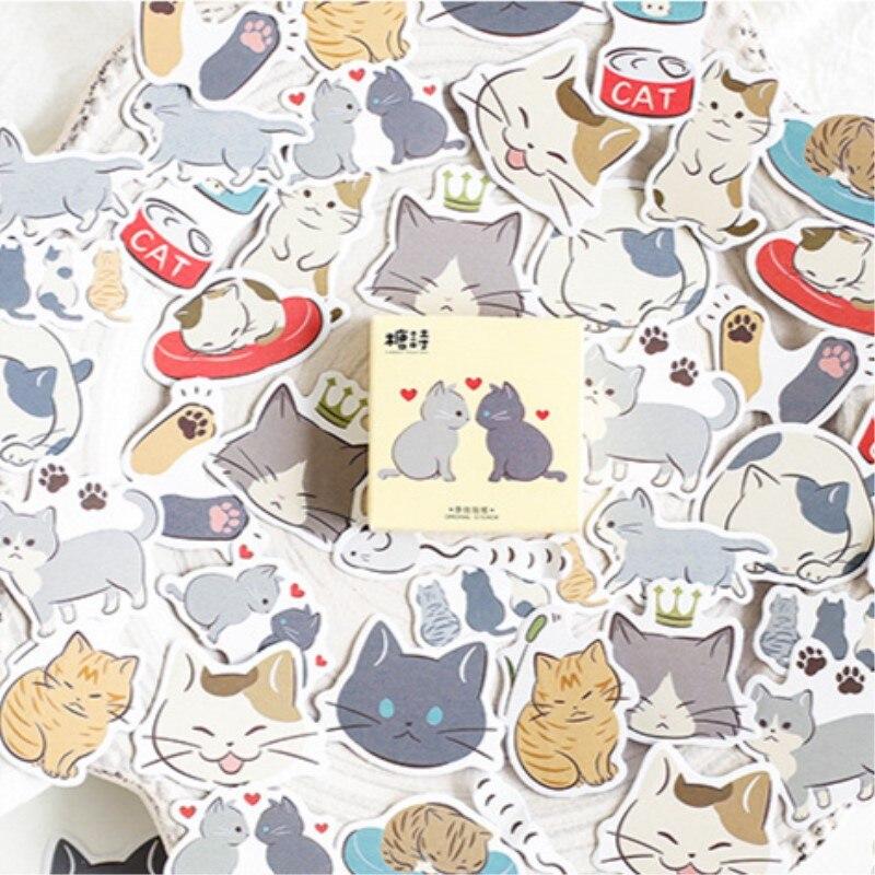 45-unidades-por-caja-pegatinas-adhesivas-con-diseno-de-gato-y-amigos-etiquetas-decorativas-para-album-y-diario-etiquetas-de-papel-articulos-de-papeleria-para-decoracion-pegatinas