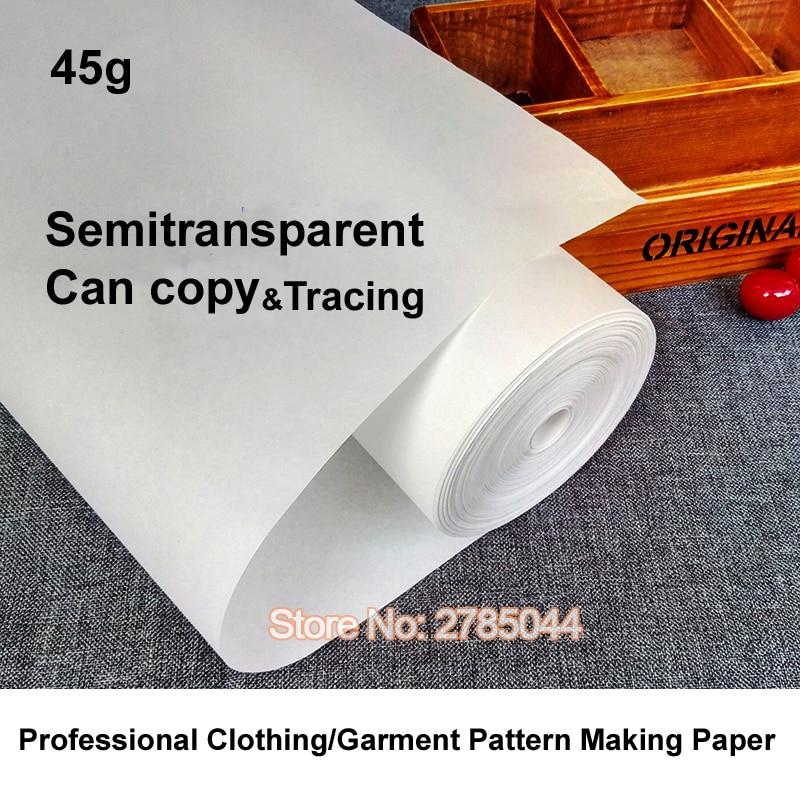 عالية الجودة المهنية الملابس نمط الملابس صنع ورقة تصميم مشروع تتبع نمط صنع اللف قطع 45G FL00027