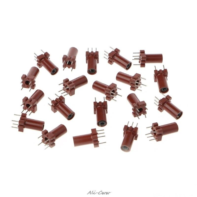 Carcasa de Inductor ajustable, esqueleto vacío de ferrita, núcleo sin inductora bobina, inductores de 25-100MHZ, circuitos integrados S927 20 Uds.