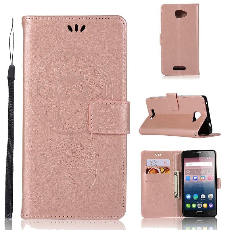 Funda tipo billetera para Alcatel U5 4G, funda protectora de cuerpo completo para Alcatel A5 Led / Flash 2 / iDol4 / PoP 4S /Pixi 4 4G / Pixi4 4G