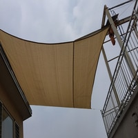 2 x 2 M/pcs Square Sun Shade Sail 95% shading UV protection for pool & balcony shade