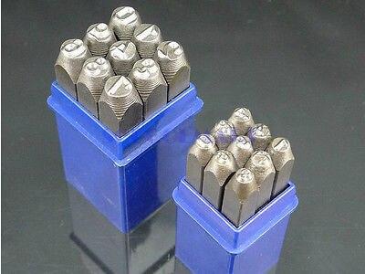 1 قطعة 12.5mmDia سوبر الصلب الصلب الرقمية النقش لكمة 0-9 العربية رقم مجموعة ختم