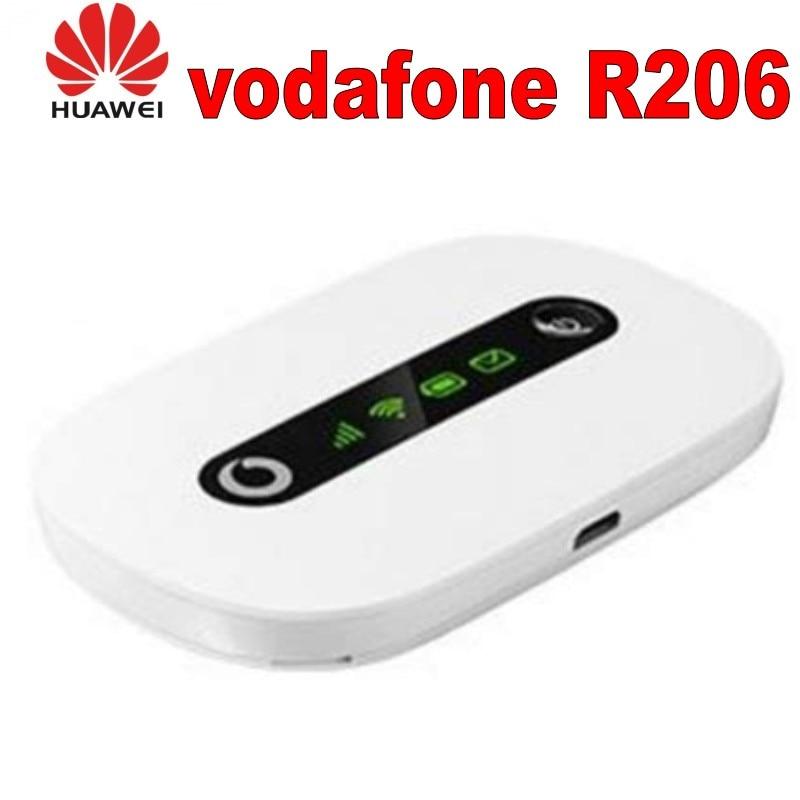 Lote de 100 Uds desbloqueado Huawei Vodafone R206 21,6 Mbps 3G HSPA UMTS Router inalámbrico WiFi bolsillo