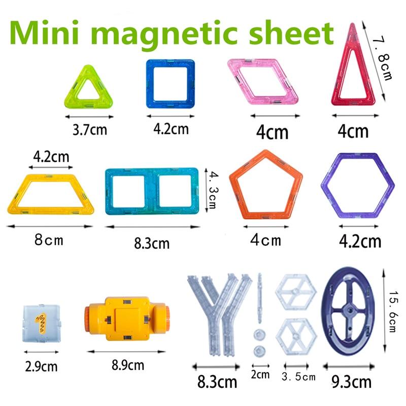 Vavis Tovey розничная продажа, 1 шт. мини-дизайнерская игрушка, детские развивающие игрушки, пластиковые креативные кирпичи, светящиеся магнитны...