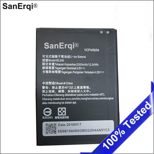 10 Uds 3300mAh BL240 batería para Lenovo Note 8 A936 A938T batería Bateria acumulador 3300mAh