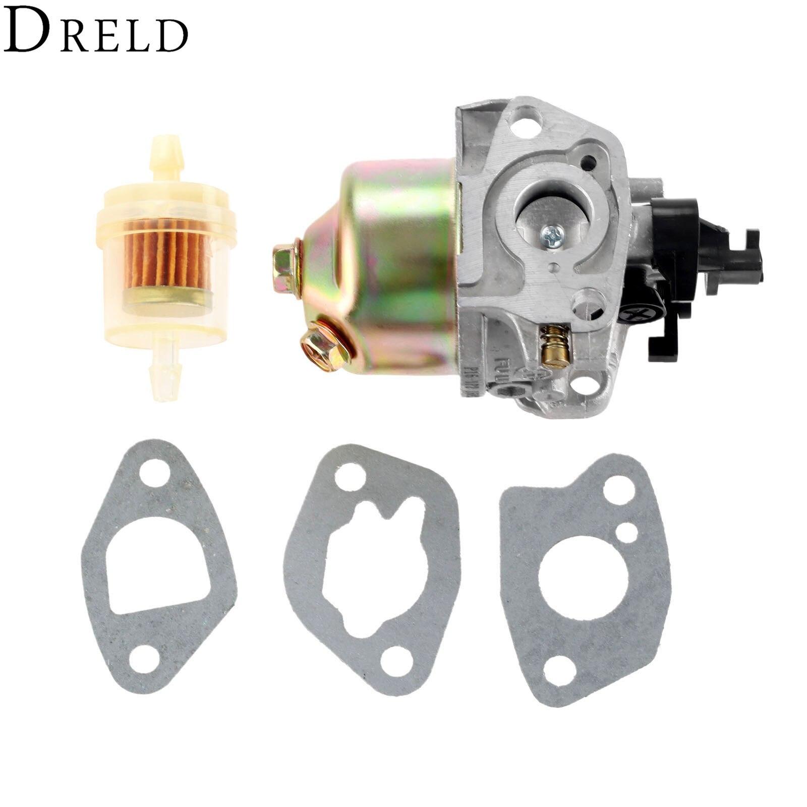 Carburador Dredd con junta de carburador filtro de combustible para MTD Cub cadete troy-bilt motores de cortacésped #951-10310 751-10310