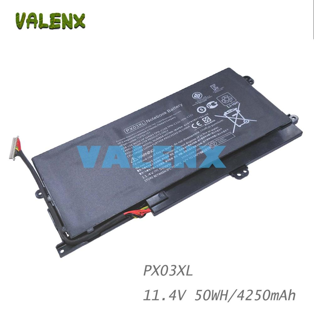 NEW PX03XL Laptop battery for HP Envy 14 14-K010US 14-K027CL Sleekbook 715050-001 714762-271 714762-