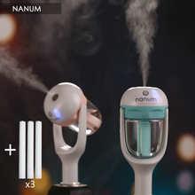 Автомобильный аромадиффузор, 12 В, паровой увлажнитель воздуха, мини-очиститель воздуха, диффузор для ароматерапии с эфирным маслом, портати...