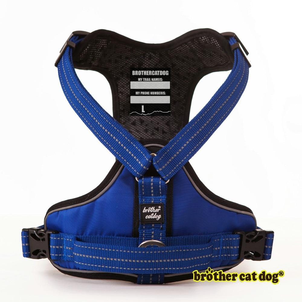 Высокое качество, поводок для собак, тренировочный жилет для средних и больших собак, регулируемая уличная Защитная упряжь Pitbull arnes perro