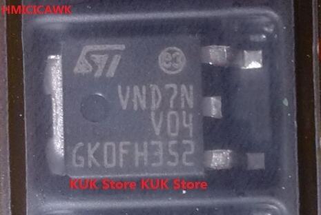 Original nuevo VND7NV04 VND7NV04TR-E VND7NV0413TR VND7NV04TR VND7NV04 DPAK 100 unids/lote