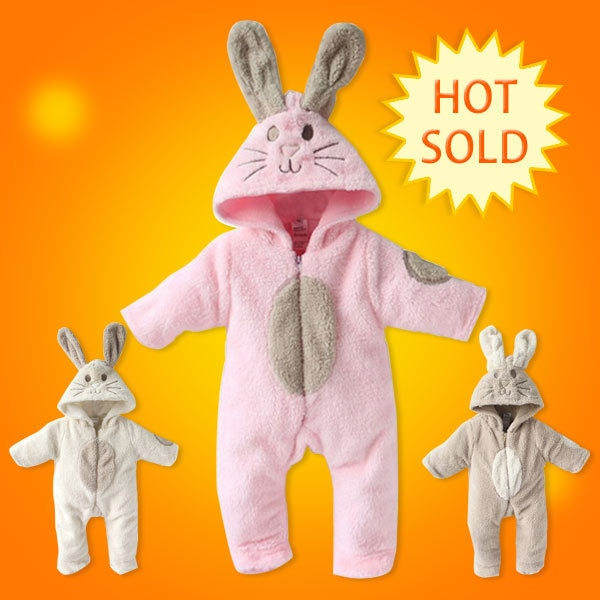 baby boy/girl  winter modelling rompers baby one-piece romper children warm jumpsuit Polar fleece baby bodysuits1pcs