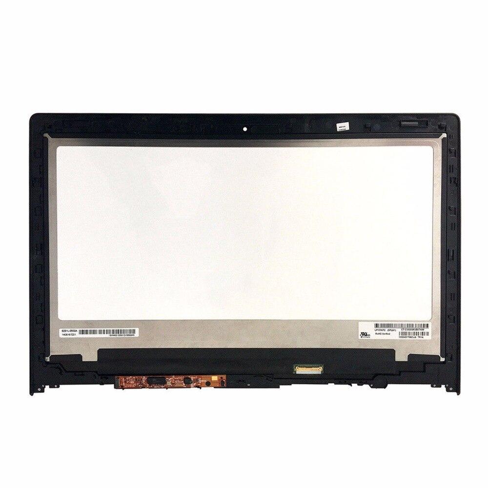 Dla Lenovo IdeaPad Yoga 2 13 20344 B133HAN02.0 wyświetlacz LCD z ekranem dotykowym montaż 1920*1080