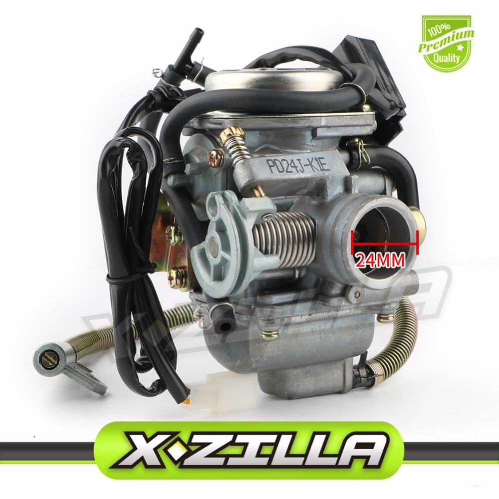 PD24 KEIHIN 24mm Carburetor Carb for GY6 150  Scooter ATV Moped Quad 139QMB 139QMA YERF DOG DOGG 150cc ScootER