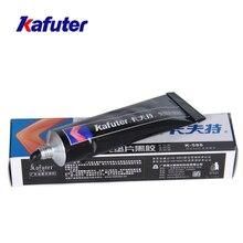 Kafuter scellant de haute qualité 50ml   Noir, étanche à leau résistante à lhuile, résistant aux hautes températures, colle réparante pour joints libres