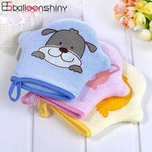 BalleenShiny Детские Мультяшные банные кисти банное полотенце для новорожденного аксессуары супер мягкие банные перчатки детский инструмент дл...