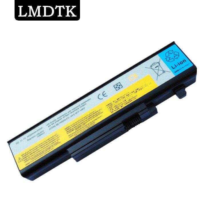 LMDTK nuevo 6 celdas de batería del ordenador portátil para Lenovo IdeaPad Y450 Y450A Y450G Y550 Y550A L08L6D13 L08O6D13 L08S6D13 envío gratis