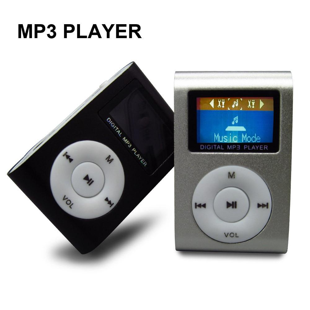 Nouveau lecteur MP3 Portable lecteur de musique LCD écran Mini pince multicolore lecteur MP3 avec Micro TF/SD carte Slot produits électroniques