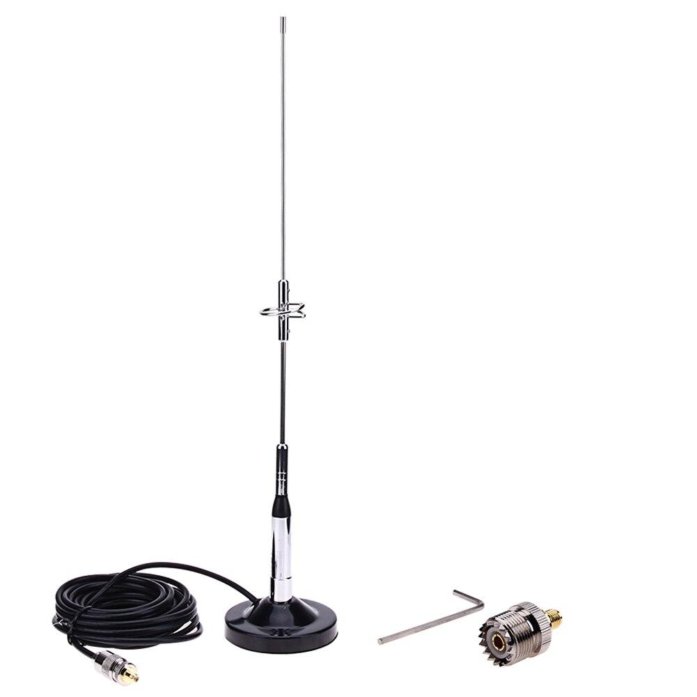 Антенна 770S + магнитное крепление, базовый кабель для UHF-M + разъем из чистой меди для автомобиля, мобильного радио сигнала, антенна для стайлинга автомобиля