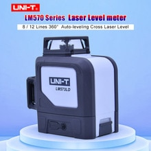 UNI-T LM570 Serie 8/12 Linien Selbst nivellierung Grüne Linie Laser Ebene LM572G LM573G LM573LD 360 Grad Level Meter Auto -nivellierung