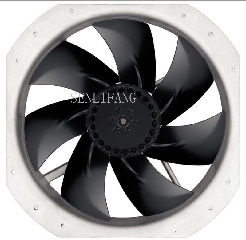 Free shipping  Brand German W2E250-HJ52-06 ebmpapst 230V 135W Axial fan 28080 230V full metal high temperature resistant fan