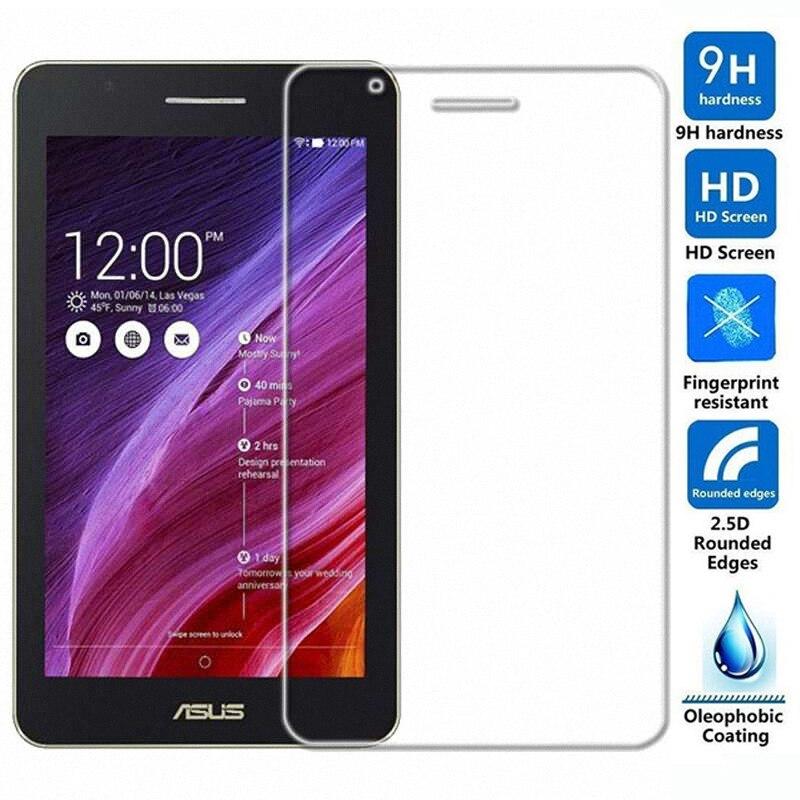 9H LCD À Prova de Explosão de Vidro temperado Película Protetora Protetor de Tela para Asus FonePad 7 FE171CG FE171MG FE171 tablet