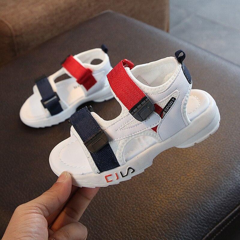 Mudipanda Girls sandals 2019 new fashion casual boys shoes summer baby soft bottom girls children's Sandalies wholesale