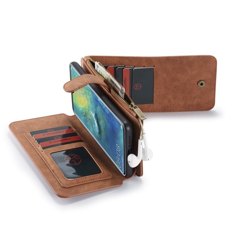 حافظة جلدية فاخرة قابلة للطي لهاتف Hawei p30 mate20 pro lite Fundas حافظة واقية للهاتف ملحقات غطاء كامل حقائب كوكيه
