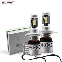 Luz antiniebla para automóviles, 2 uds, H4 LED H7 súper brillante 72W 12000LM G8 XHP50 CHIP, faro delantero para coche, 24V 6000k H11 H7 HB4