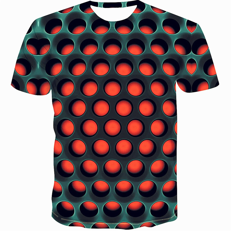 다채로운 2019 인쇄 남자의 t-셔츠 재미 있은 t-셔츠 환상 흑백 그래픽 o-넥 풀 오버 여자의 3D t-셔츠