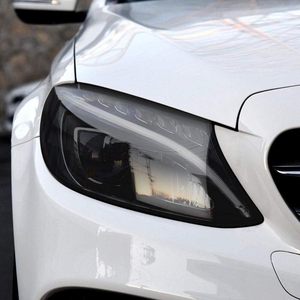Автомобильная тонированная фара противотуманная фара ПВХ пленка для Jeep Renegade Wrangler JK VW Passat Peugeot 407 308 208 508 Opel Insignia