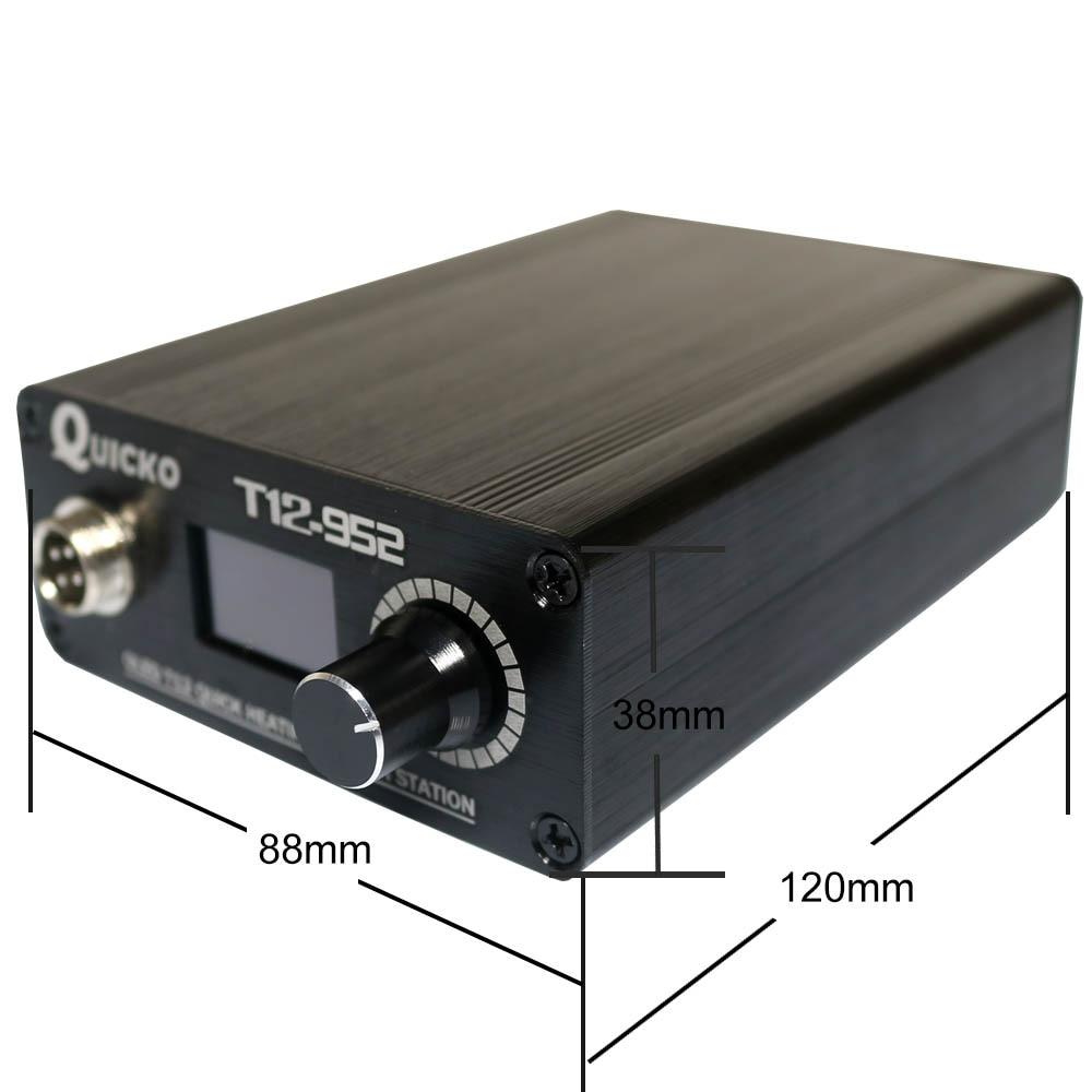 Greito kaitinimo litavimo stotis, elektroninis lituoklis su OLED - Suvirinimo įranga - Nuotrauka 4
