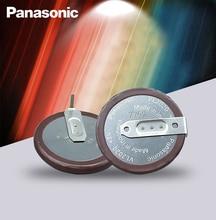 2 pièces Panasonic dorigine VL2020 3V 20mAh pièce de monnaie rechargeable 90 degrés filet lithium pile bouton