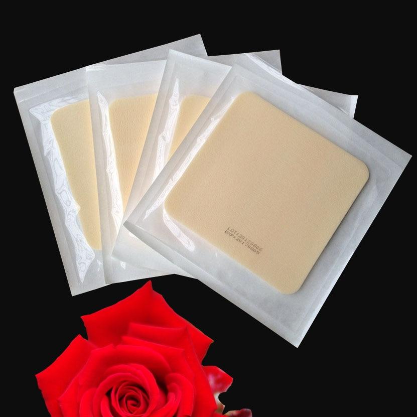 1pcs 15*15CM medical foam dressing acne stick with adhesive catheter decompression sore liquid absorption cotton sponge wound pa