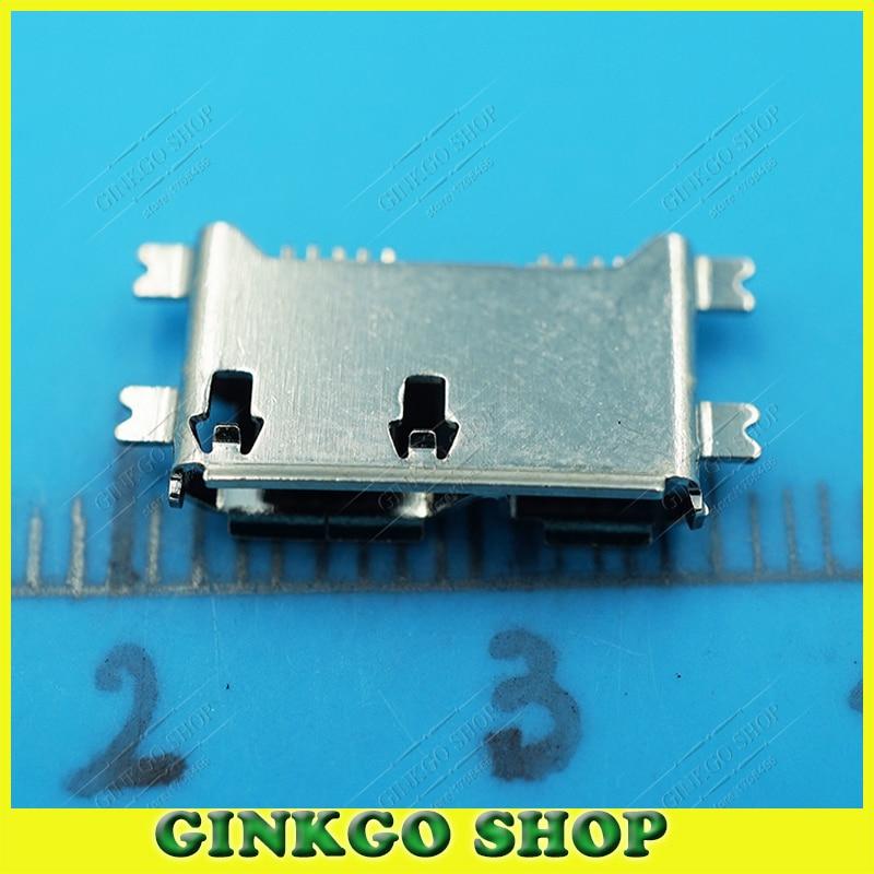 20 unids/lote Micro USB 3,0 hembra enchufe 4SMT tipo para Tablet PC Cámaras Digitales/HDD/móvil Disco Duro Jack con borde Crul