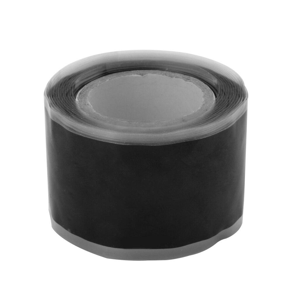 Impermeable silicona rendimiento reparación cinta Multi-propósito Bonding Rescue manguera de cable de auto fusión cinta negra