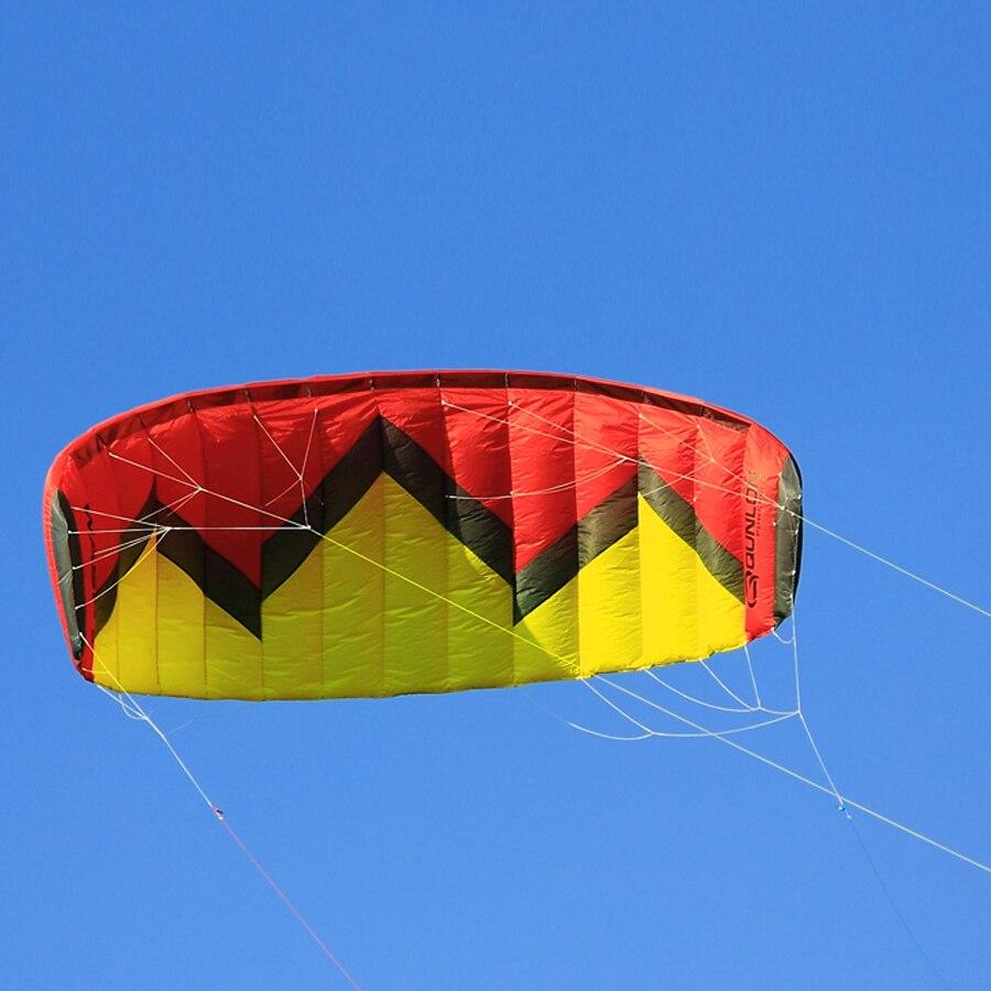 Avispa 5Sqm Quad línea potencia de tracción cometa con manejar kitesurf Kiteboarding entrenador cometa
