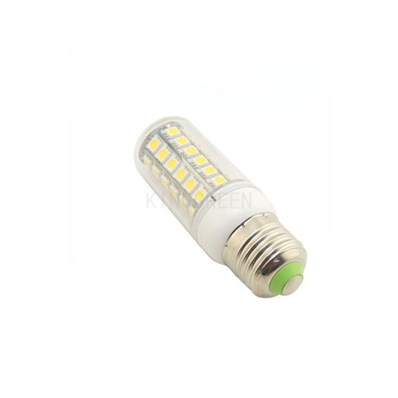 100X high quality 5050SMD E27 110V / 220V 9W led corn light express free shipping
