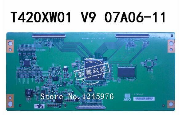 Envío Gratis, 100% original T420XW01 V9 07A06-11 AUscreen T420XW01, trabajo de prueba en stock