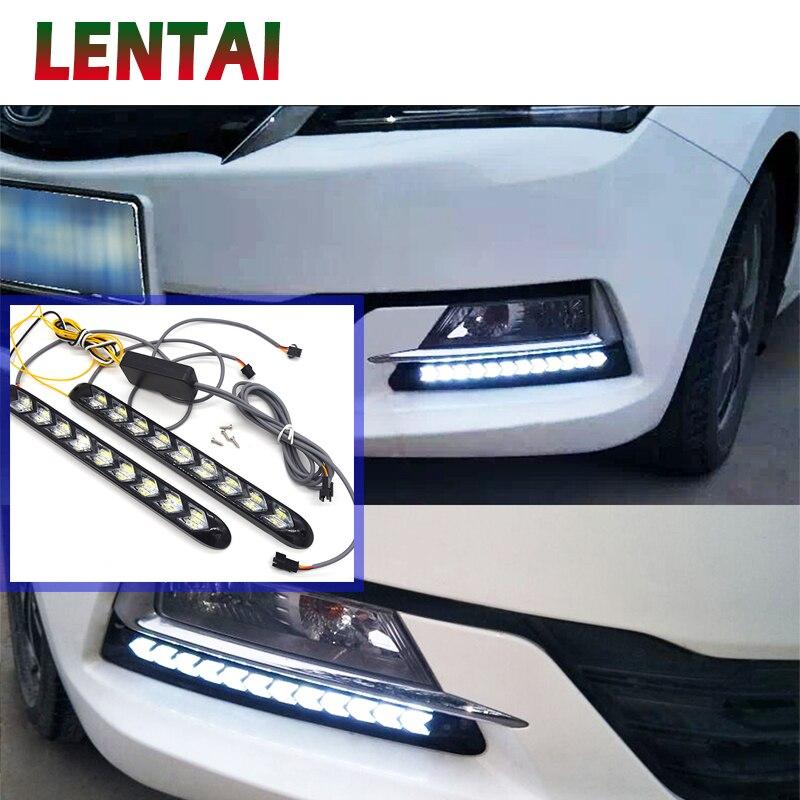 1 juego de luces LED antiniebla LED para coche EALEN con dirección amarilla para Fiat 500 Opel Insignia Vectra c Suzuki Swift Sx4 Hyundai